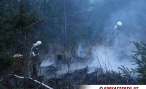 Waldbrand in Hart/Zillertal