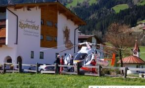 Schwerer Fahrradunfall auf der L300 Dörferstraße - Zellberg