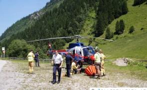 Schwieriger Löscheinsatz bei Waldbrand auf 1.900m - Ginzling