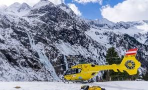 Schwer Verletzter nach Eislawine auf 1.580m - Ginzling