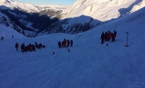 Lawinenabgang am Hintertuxer Gletscher: keine Verschütteten