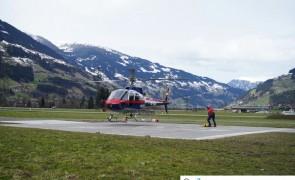 Taubergung eines Snowboarders im Ahorngebiet - Mayrhofen