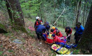 Ältere Frau abgestürzt und schwer verletzt: nach Sucheinsatz gefunden - Schwendau