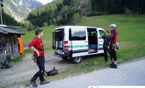 Schwer Verletzter bei Absturz bei Klettersteig - Ginzling