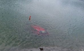 Auto in Durlassboden Speicher versunken
