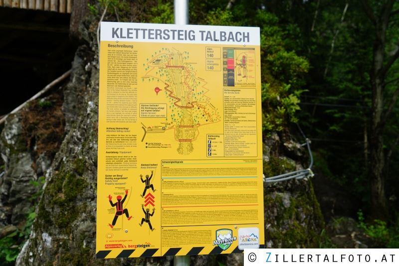 Klettersteig Talbach : Klettersteig u etalbachu c feierlich eröffnet zellberg
