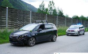 Verkehrsunfall nach Sekundenschlaf auf B169 - Aschau/Zillertal