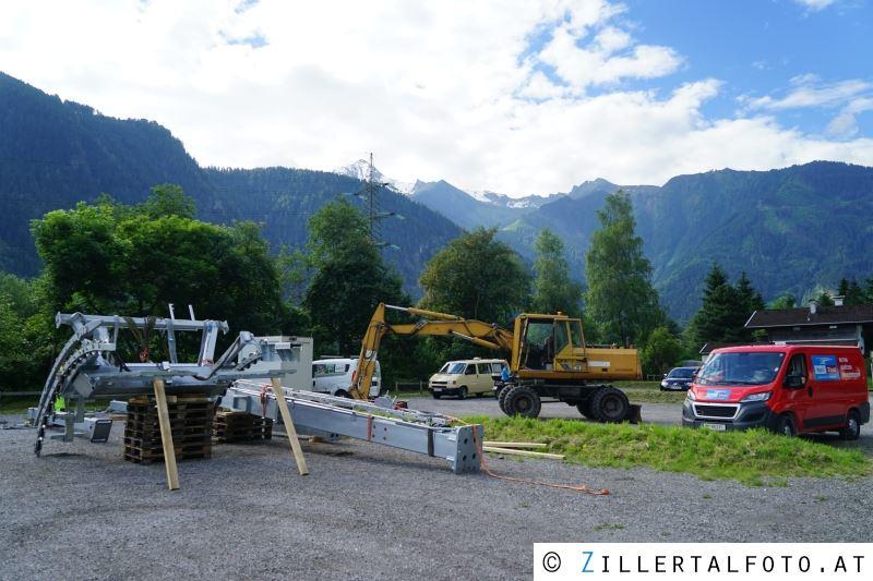 Klettersteig Zimmereben : Größter lastenhubschrauber Österreichs bei klettersteig u201ezimmereben