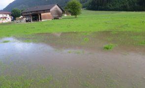Unwetterfront sorgte für Überflutungen - hinteres Zillertal
