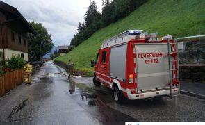 Hagelschauer sorgte für Feuerwehreinsätze in Brandberg