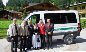 Fahrzeugweihe neues Einsatzfahrzeug der BR Ginzling