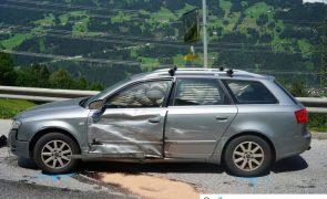 Verkehrsunfall auf der B165 in Hainzenberg