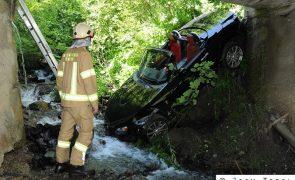 Fahrzeugabsturz in Hochfügen: Lenker geflüchtet