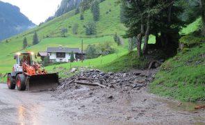 Mure verlegte die B169 in Ginzling