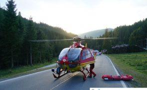 Verkehrsunfall auf der B165 in Gerlos