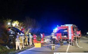 Frontalkollision auf B169 in Stumm: 5 Verletzte