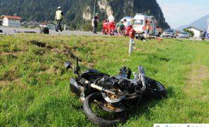 Schwerer Motorradunfall auf B171 - Strass/Zillertal