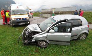 Strass-Verkehrsunfall unter Alkoholeinfluss-fotocredit: ZOOM.TIROL