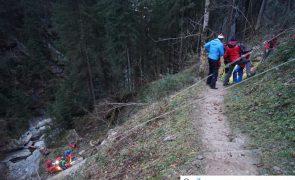 Tragischer Unfall in Mayrhofen: Wanderer tödlich in Stilluppklamm abgestürzt