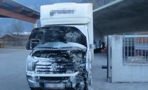 Fahrzeugbrand in Stumm