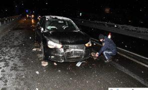 Fahrzeug plötzlich abgestorben: Unfall auf A12 in Schwaz
