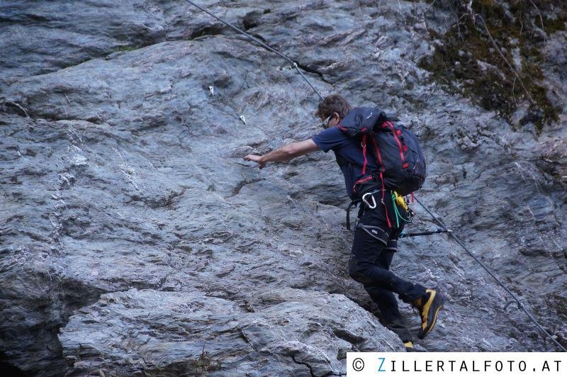 Klettersteig Talbach : Taubergung aus klettersteig u etalbachu c hippach zillertalfoto at