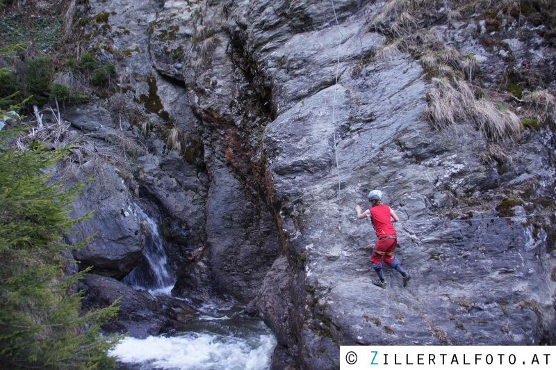 Klettersteig Ochelbaude : Klettersteig talbach klettersteige im zillertal