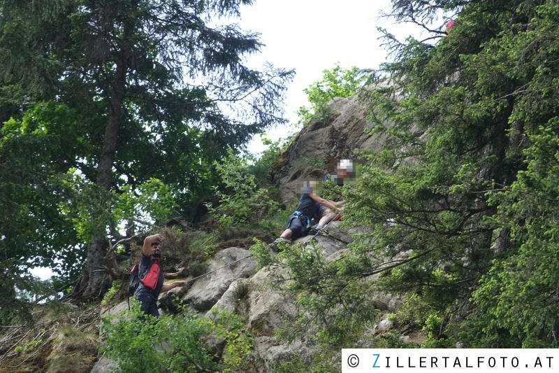 Klettersteig Huterlaner : Taubergung aus klettersteig u ehuterlaneru c schwendau